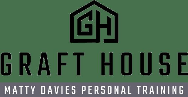matty davies personal trainer logo
